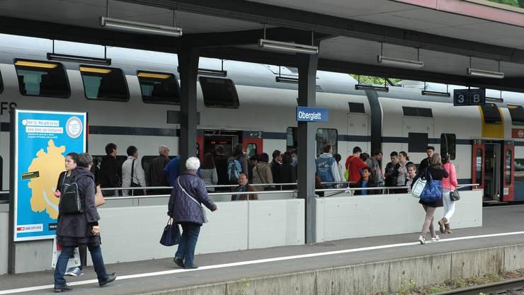 Der Bahnverkehr zwischen Oberglatt und Bülach ist beeinträchtigt. Archiv