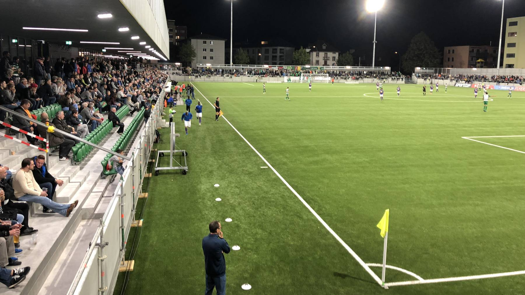 Der SC Kriens im Stadion Kleinfeld