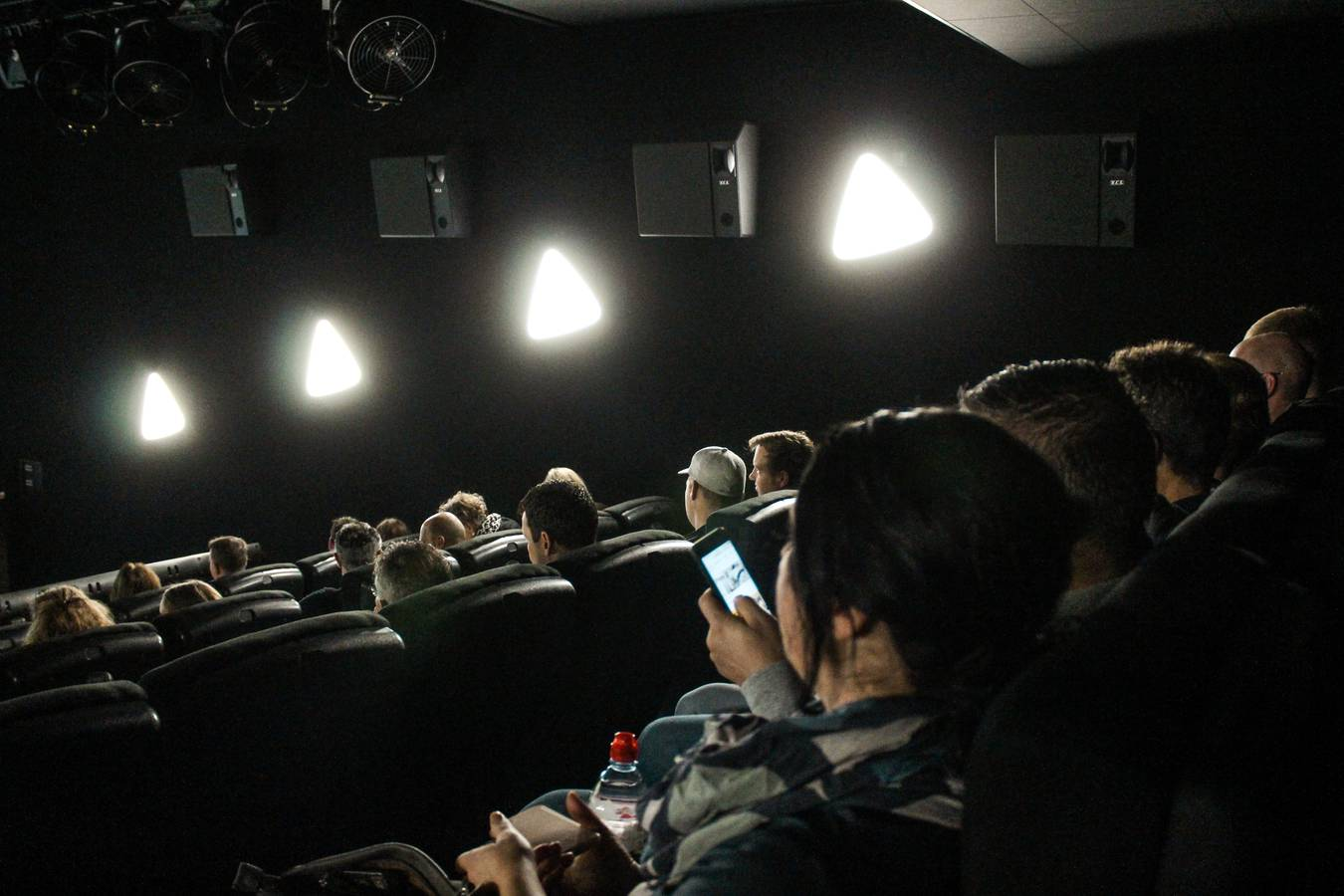 Nun kann der 4DX Film beginnen. (© FM1Today)
