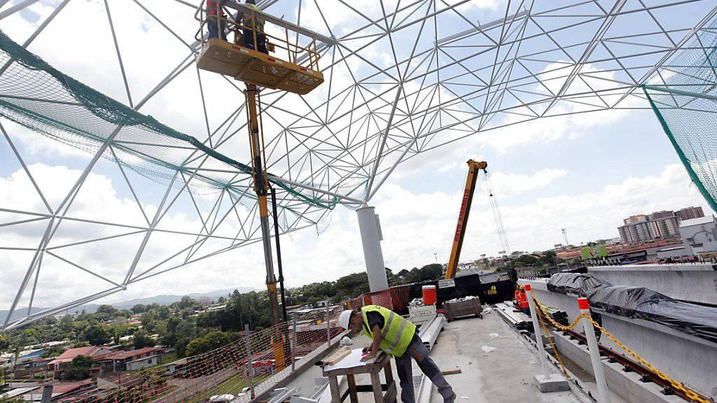 Grossaufträge wie der Bau einer Metrolinie in Panama City kann der brasilianische Baukonzern Odebrecht in Argentinien vorerst vergessen. (Archivbild)