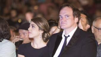 Sind laut Medienberichten seit (gestern) Mittwoch Frau und Mann: Daniela Pick und Quentin Tarantino. (Archivbild)