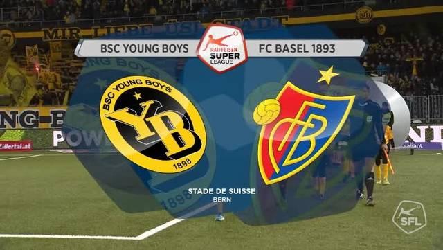Die kompletten Highlights der Partie YB - Basel; Super League 17. Runde
