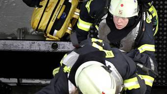 Der Bewohner konnte den Brand noch vor Eintreffen der Feuerwehr löschen. (Symbolbild)