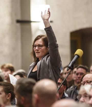 Gemeinderätin Franziska Roth (SP) meldet sich zu Wort