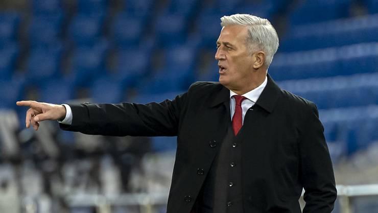 Ein Unentschieden fast wie ein Sieg: Vladimir Petkovic führte die Schweiz zu einem wertvollen 1:1 gegen Spanien