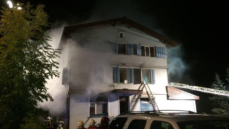 In der Nacht auf Donnerstag hat es in Villmergen gebrannt