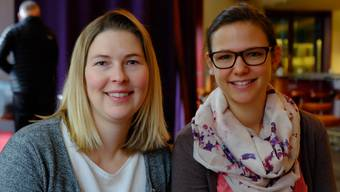 Die Ergotherapie-Studentinnen Ulrika Sundberg (Strengelbach) und Janine Ribolla (Fislisbach) entwickelten Hilfestellungen für Suchterkrankte.