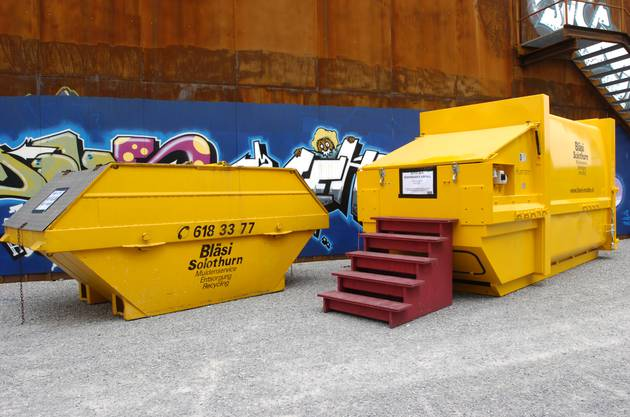 Im Sommer 2006 wird das Abfall-Konzept sichtbarer