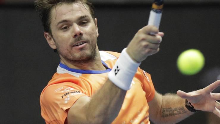 Stan Wawrinka scheitert in Schanghai in der Startrunde