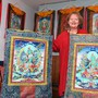 Die Oensingerin Christina Ackermann betreut seit 1999 Asylbewerber in Oensingen. Dadurch hat sie sich für die tibetanische Kultur begeistert.