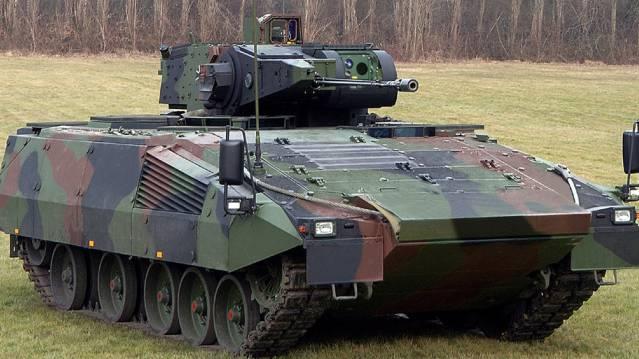 Puma-Schützenpanzer von Rheinmetall. (Archiv)