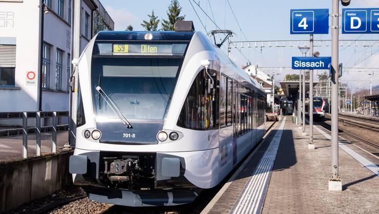 Geht es nach dem Baselbieter Landrat verkehren ab Ende 2019 auf der Linie zwischen Sissach und Olten nur noch Busse.