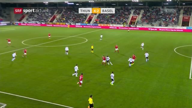 Der FC Thun ist in einem Hoch