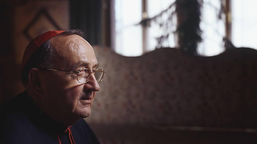Der Schweizer Kardinal Henri Schwery ist am Donnerstag im Alter von 88 Jahren in einem Altersheim in St. Leonard (VS) gestorben. (Archivbild)