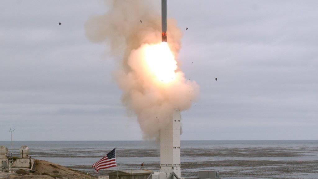 Das US-Militär testete vor wenigen Tagen von der Insel San Nicolas in Kalifornien einen Marschflugkörper. Er habe sein Ziel nach mehr als 500 Kilometern Flug präzise erreicht. (Archivbild)