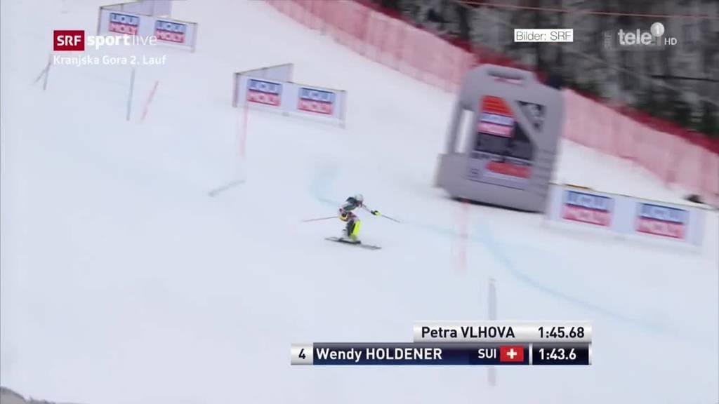 Erfolg Skifrauen im Slalom