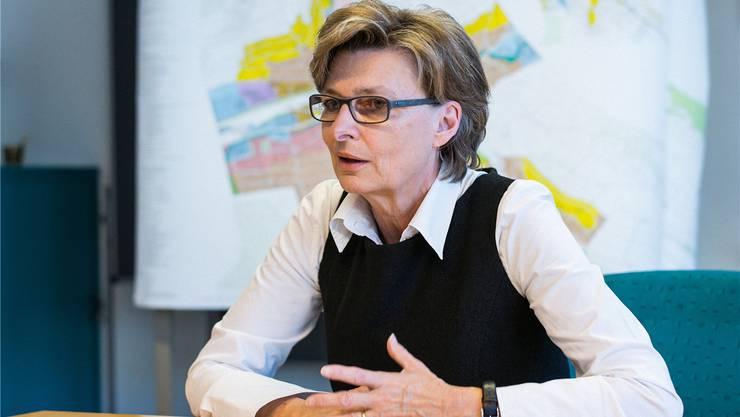Christine Mangold: «Einziger Wermutstropfen ist der fehlende Halt des Schnellzugs von und nach Zürich. Bei den SBB sind wir bis jetzt auf taube Ohren gestossen.»Kenneth Nars