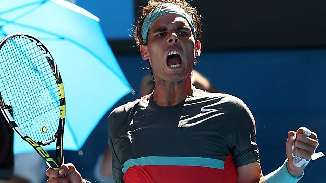 Rafael Nadal kämpfte sich in die Halbfinals