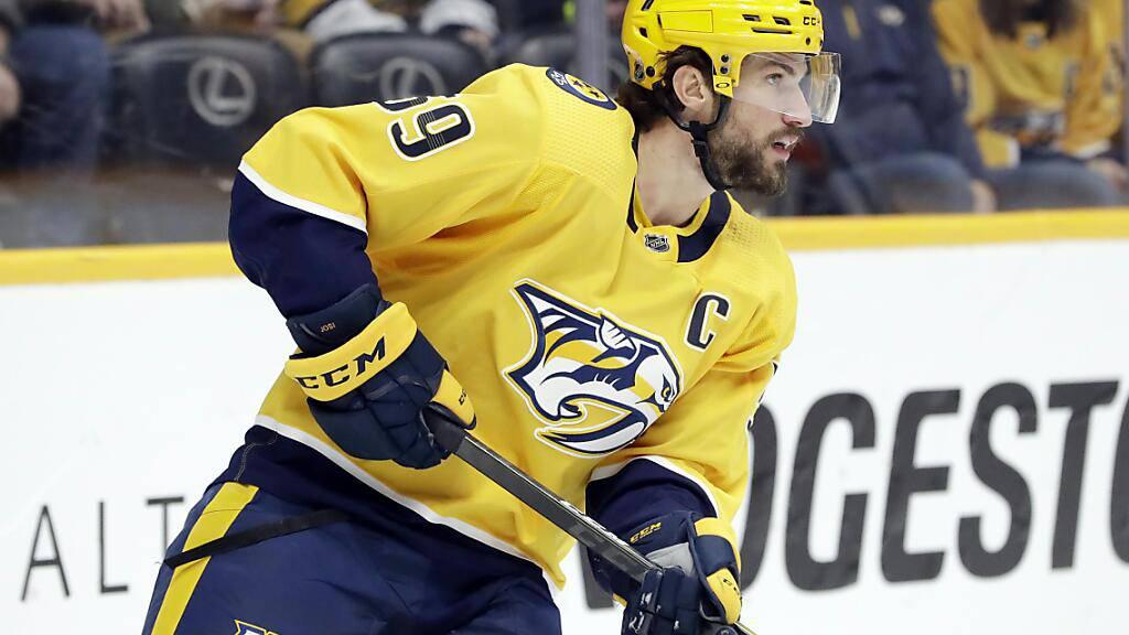 450. NHL-Skorerpunkt: Josi übertrifft Streit