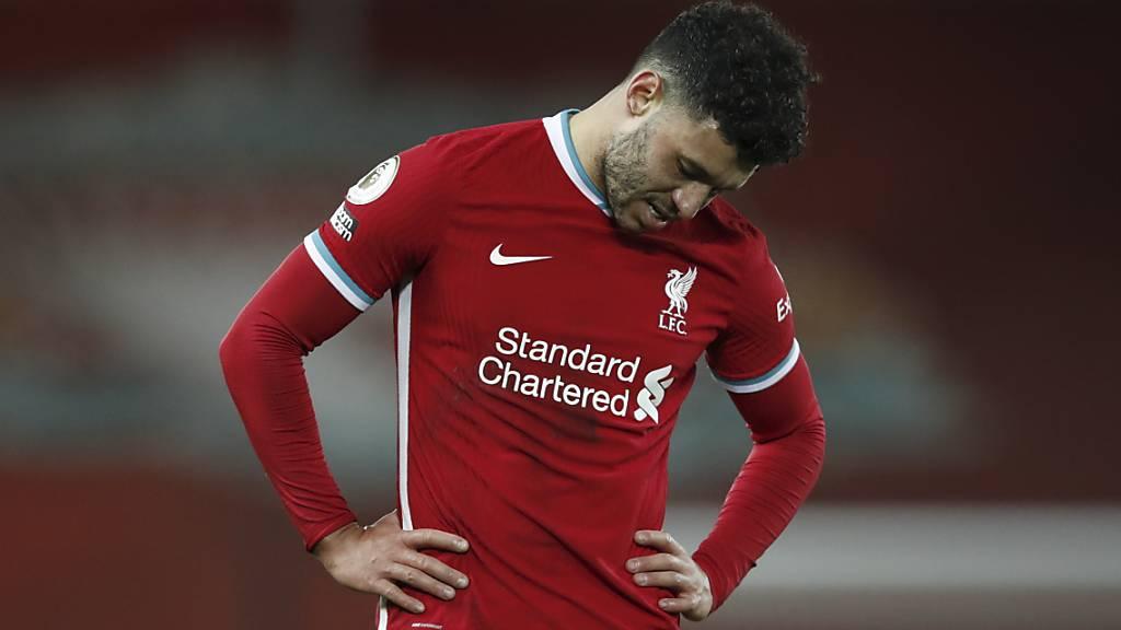 Enttäuschung für Liverpool und Mittelfeldspieler Alex Oxlade-Chamberlain: nur 1:1 im Heimspiel gegen den Tabellenvorletzten West Bromwich Albion
