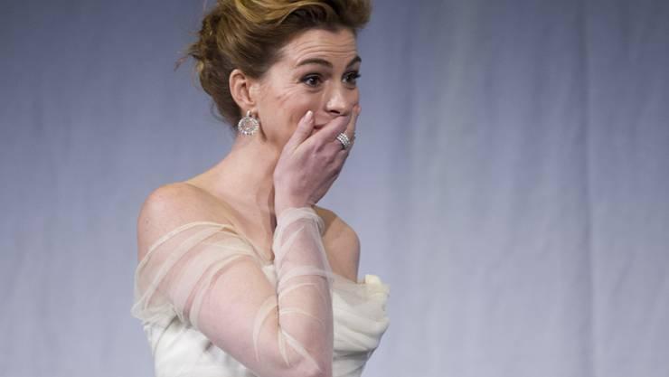 Die Schauspielerin Anne Hathaway wird in Kürze mit einem Hollywood-Stern geehrt. (Archivbild)