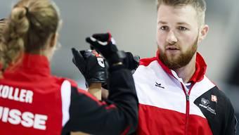 Yannick Schwaller (rechts) will an den Europameisterschaften an die Erfolge seines Vaters Christof Schwaller und seines Onkels Andy Schwaller anknüpfen