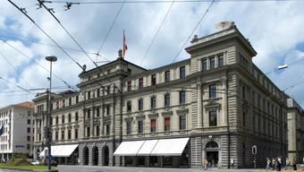 Vor dem Sitz des Eidgenössischen Versicherungsgerichtes in Luzern ereignete sich am 6. Dezember 2013 der erste Angriff auf einen Bundesrichter im Zusammenhang mit seiner beruflichen Tätigkeit. (Archiv).