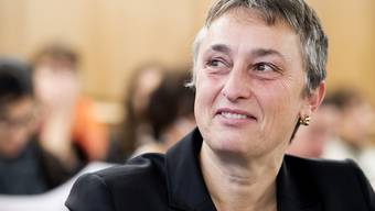 Die Freiburger Staatsanwaltschaft hat die Aufhebung der Immunität der Staatsrätin Marie Garnier (Grüne) gefordert. Ihr wird vorgeworfen, vertrauliche Dokumente an die Medien weitergereicht zu haben. (Archivbild)