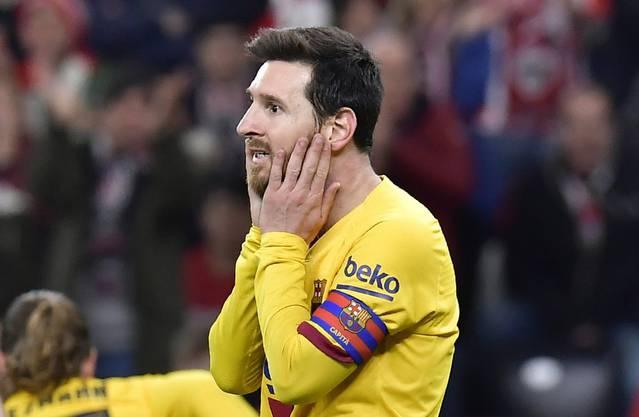 Lionel Messi ist einmal mehr Hoffnungsträger beim FC Barcelona.