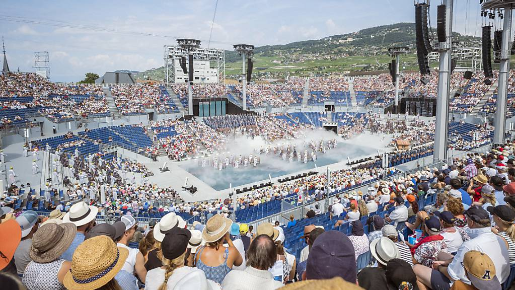 Trotz tausenden von Zuschauern haben die Veranstalter der Fête des Vignerons 16 Millionen Mehrkosten verzeichnet. (Archivbild)