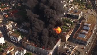 Das Feuer wurde fahrlässig verursacht. (Archiv)