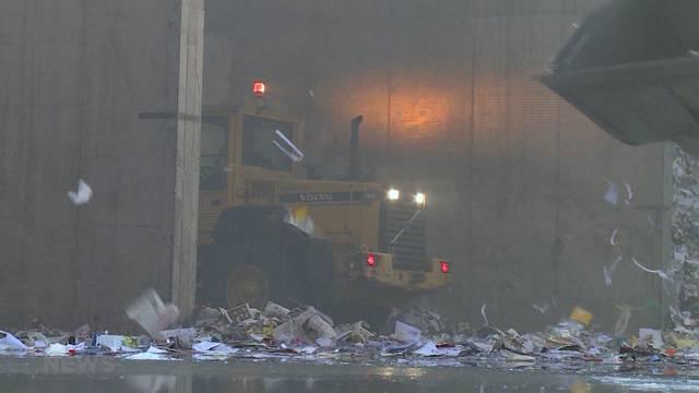 Brand in Papierfabrik Utzenstorf