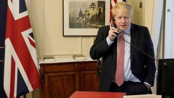 Der britische Regierungschef Boris Johnson hat das Coronavirus.