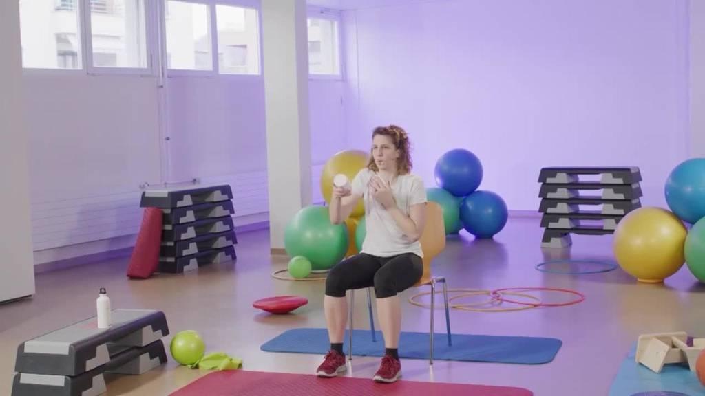 «Gymnastik im Wohnzimmer» vom 3. August 2021