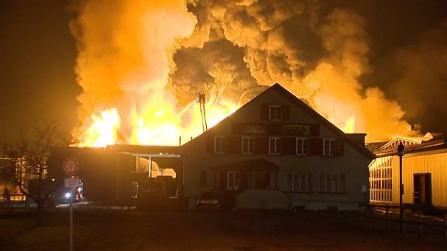 Grossbrand in Egnach