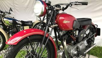 Die raren Fahrzeuge der englischen Marke Calthorpe zählten zu den Highlights.