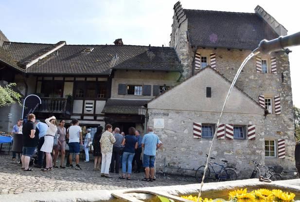 Die Brugger Jugendherberge befindet sich im altehrwürdigen Schlössli Altenburg