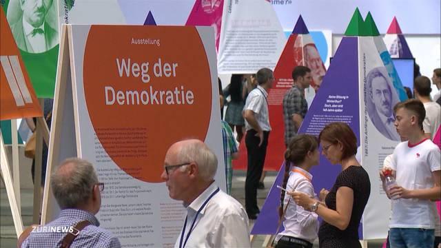 Kantonsrat feiert demokratische Revolution