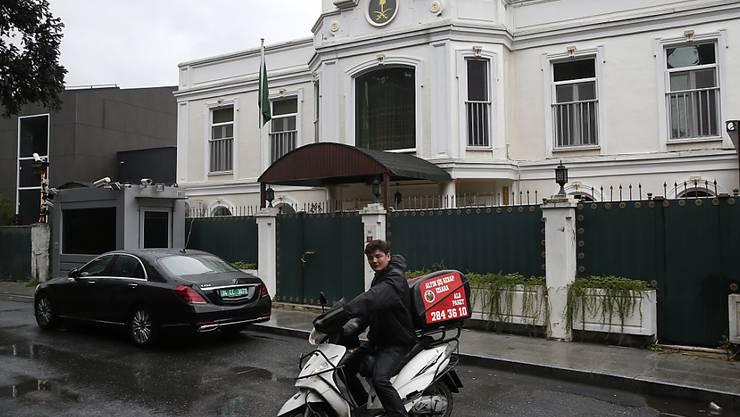 Der Journalist Dschamal Chaschukdschi verschwand vergangene Woche nach einem Besuch des saudischen Konsulats in der türkischen Metropole Istanbul.