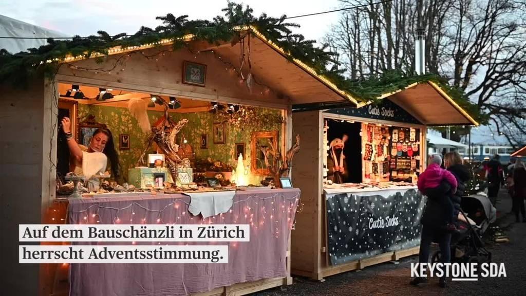 Trotz Corona: In Zürich kommt Weihnachtsstimmung auf