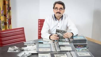 Georg Edelmann sammelt alles, was mit Bad Zurzach zu tun hat