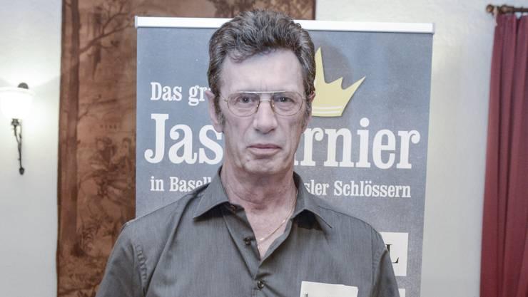 Jasskönig Dieter Faller aus Arlesheim.