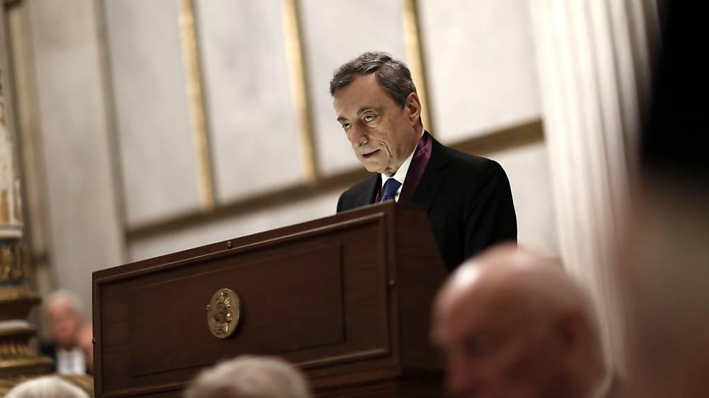 Draghi fordert gemeinsames Konjunkturprogramm