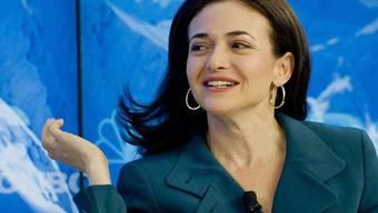 Sheryl Sandberg ist bei Facebook fürs Tagesgeschäft zuständig (Archiv)
