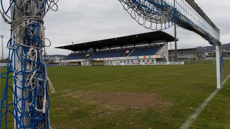 Das Stadion Niedermatten taugt für die Challenge League nicht mehr.