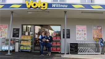 Die neue Volg-Filiale an der Kirchbachstrasse in Wittnau öffnete gestern seine Türen für die ersten Kunden. Dennis Kalt