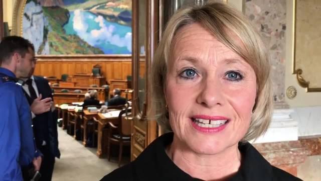 Bundesratswahl – Interview mit Elisabeth Schneider-Schneiter