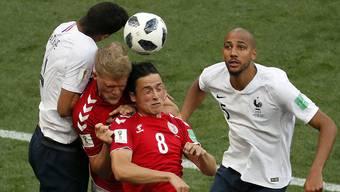 Impressionen zum Gruppenspiel Dänemark - Frankreich