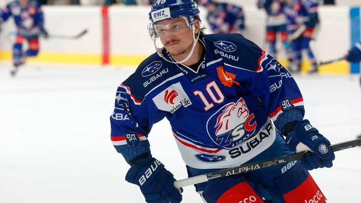 Sven Andrighetto ist die neu Attraktion der ZSC Lions.