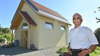 Aktueller Baustand Kmehr Ruhestätte in Walterswil